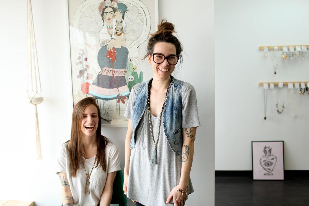 L'atelier-boutique de Mélusine a ouvert ses portes en février.